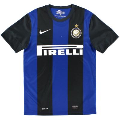 2012-13 Inter Milan Home Shirt M