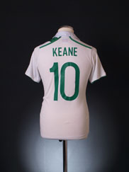 2012-13 Ireland Away Shirt Keane #10 M