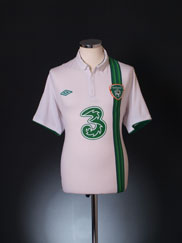 2012-13 Ireland Away Shirt L