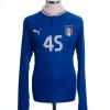 2012-13 Italy Home Shirt Balotelli #45 *BNWT* L/S L