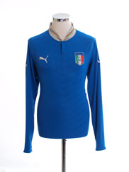 2012-13 Italy Home Shirt L/S M