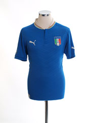 2012-13 Italy Home Shirt M
