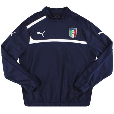 2012-13 Italy Puma 1/2 Training Top *Mint* L