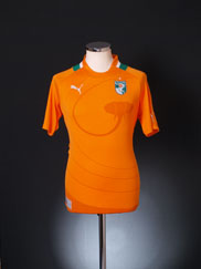 2012-13 Ivory Coast Home Shirt S