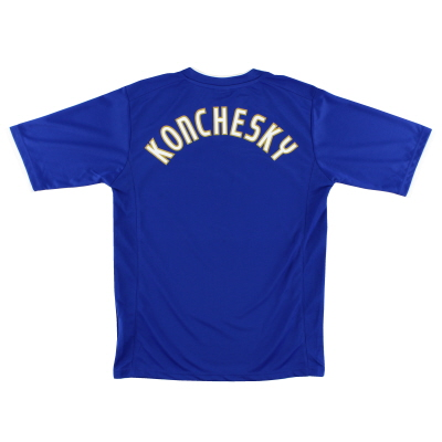 2012-13 Leicester Home Shirt Konchesky *BNWT* M