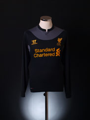 2012-13 Liverpool Away Shirt L/S S