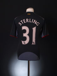 2012-13 Liverpool Away Shirt Sterling #31 M