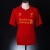 2012-13 Liverpool European Home Shirt Gerrard #8 M