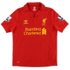 2012-13 Liverpool Home Shirt Carroll #9 L.Boys