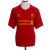 2012-13 Liverpool Home Shirt Gerrard #8 M