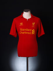 2012-13 Liverpool Home Shirt XL
