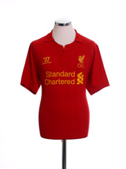2012-13 Liverpool Home Shirt M