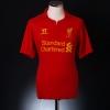 2012-13 Liverpool Home Shirt Suarez #7 XL