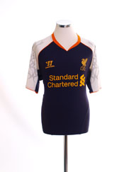 2012-13 Liverpool Third Shirt L