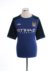 2012-13 Manchester City Umbro Training Shirt L