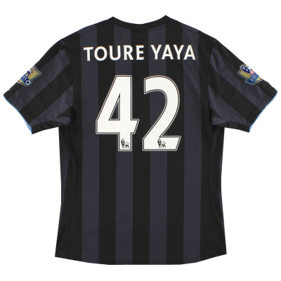 2012-13 Manchester City Umbro Third Shirt Toure Yaya #42 M