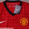2012-13 Manchester United Player Issue Home Shirt L/S *BNWT*