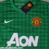 2012-13 Manchester United Goalkeeper Shirt *BNWT* M.Boys