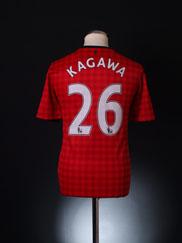 2012-13 Manchester United Home Shirt Kagawa #26 *Mint* M