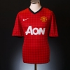 2012-13 Manchester United Home Shirt v.Persie #20 M