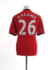2012-13 Manchester United Home Shirt Kagawa #26 L