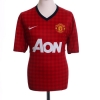 2012-13 Manchester United Home Shirt v.Persie #20 L.Boys