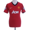 2012-13 Manchester United Home Shirt Rooney #10 XL.Boys