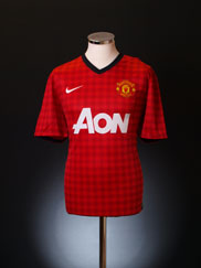 2012-13 Manchester United Home Shirt M