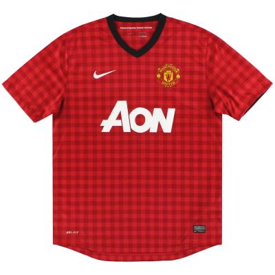 2012-13 Manchester United Nike Home Shirt XL.Boys