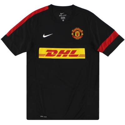 2012-13 Manchester United Nike Training Shirt *Mint* M
