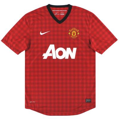 2012-13 Manchester United Nike Home Shirt XXL