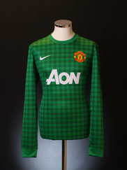 2012-13 Manchester United European Player Issue GK Shirt *BNWT* L