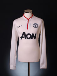 2012-14 Manchester United Away Shirt L/S XL