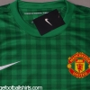 2012-13 Manchester United Player Issue Goalkeeper Shirt *BNWT* M