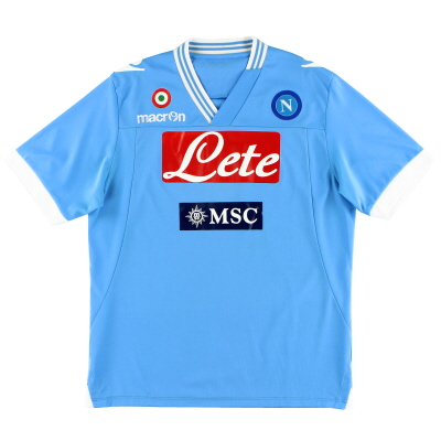 2012-13 Napoli Home Shirt L