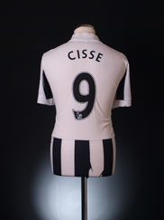 2012-13 Newcastle Home Shirt Cisse #9 L