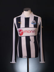 2012-13 Newcastle Home Shirt L/S M