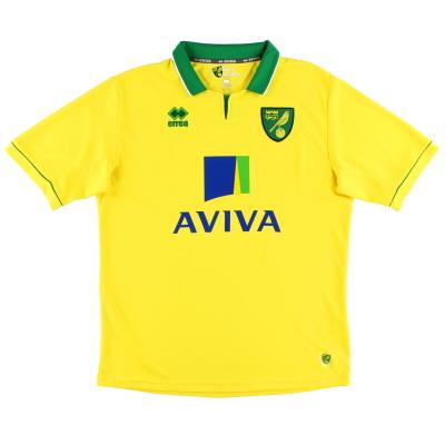 2012-13 Norwich City Erra Home Shirt Y