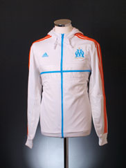 2012-13 Olympique Marseille adidas Hooded Anthem Jacket *BNIB*