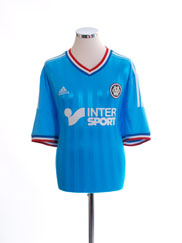 2012-13 Olympique Marseille Away Shirt L