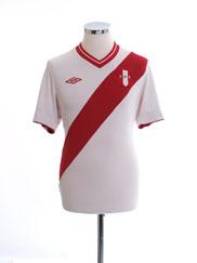 2012-13 Peru Home Shirt M