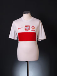 2012-13 Poland Home Shirt L