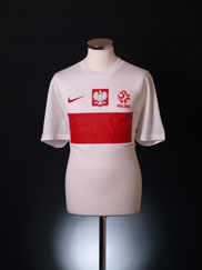 2012-13 Poland Stadium Home Shirt *BNIB*