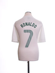 2012-13 Portugal Away Shirt Ronaldo #7 XL