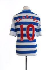 2012-13 QPR Home Shirt Taarabt #10 L