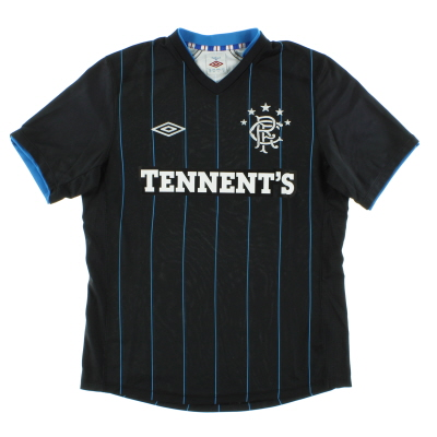 2012-13 Rangers Third Shirt *Mint* XL