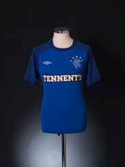 2012-13 Rangers Training Shirt M
