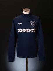 2012-13 Rangers Umbro Half Zip Training Top *BNWT* XL