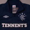2012-13 Rangers Umbro Half Zip Training Top *BNWT* XL