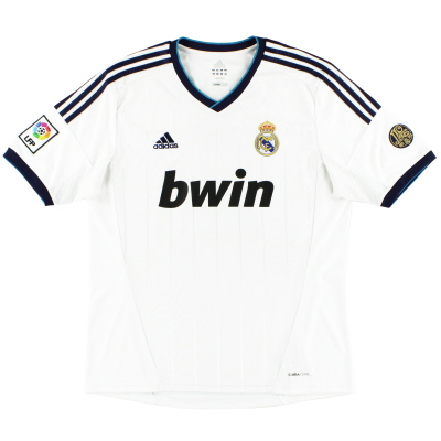 2012-13 Real Madrid Home Shirt *Mint* XXL